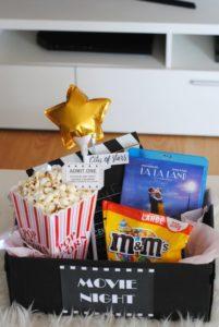 Box DIY Cinéma saint valentin