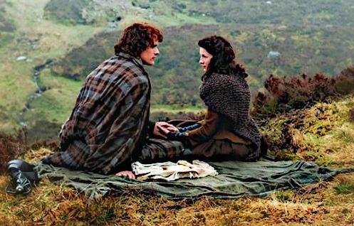 Mariage sur le thème d'Outlander