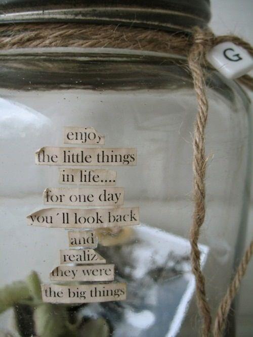 Un pot à bonheur - Happiness Jar