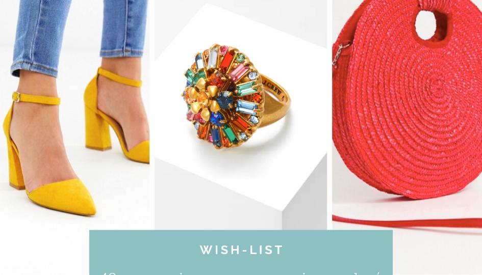 Wish List Accessoires Multicolor
