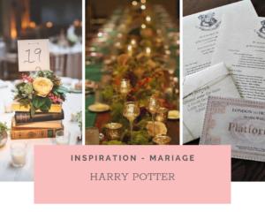 Mariage sur le thème d'Harry Potter: Idées et Inspirations