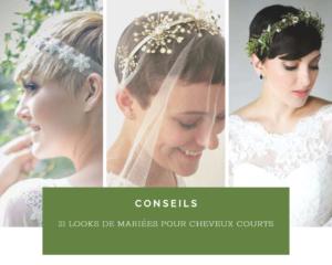 Read more about the article 21 idées de coiffures de mariées pour cheveux courts