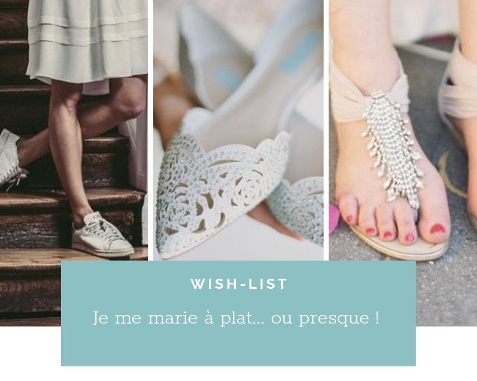 Read more about the article Chaussures de mariage: La mariée Chic et sans Talon.
