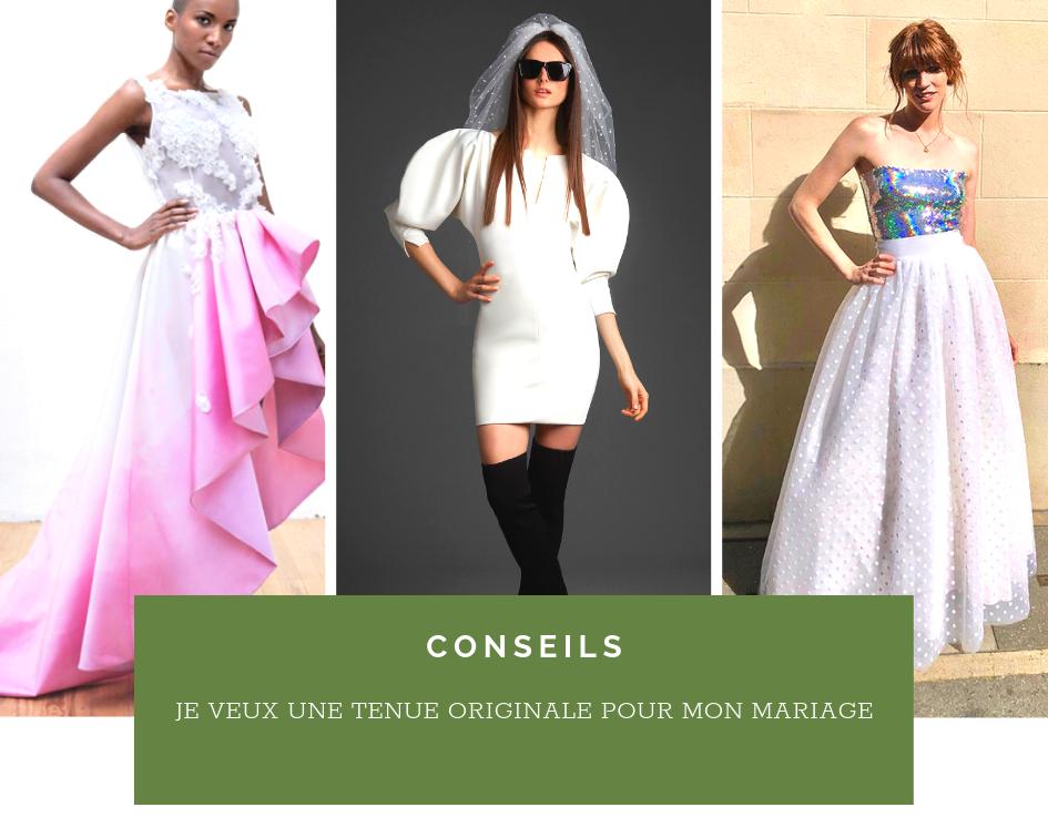 Read more about the article Je veux une robe de mariée originale