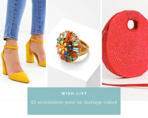 42 accessoires pour un mariage haut en couleurs