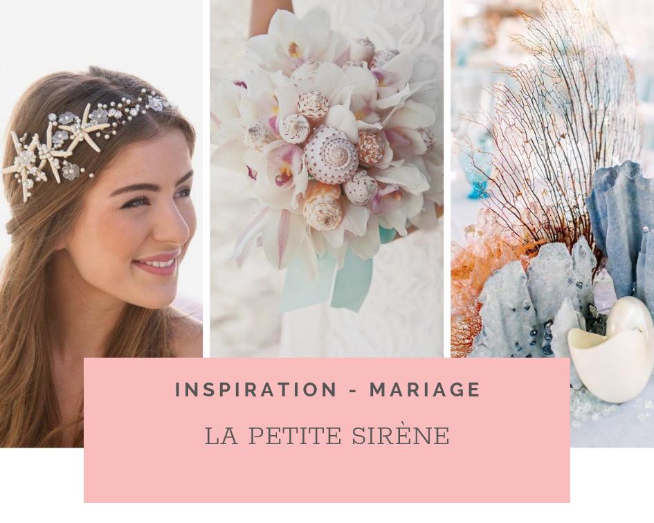 Thème de Mariage La Petite Sirène – Idées et Inspirations