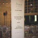 Menu de mariage champetre - galerie photo