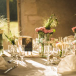 Table mariage champetre