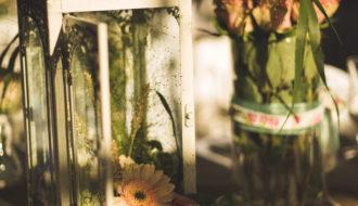 Fleurs mariage champêtre