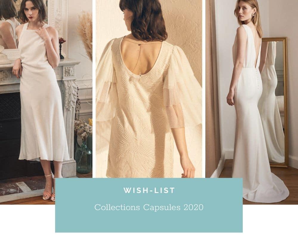 Robes de mariée: collections capsules Prêt à porter 2020