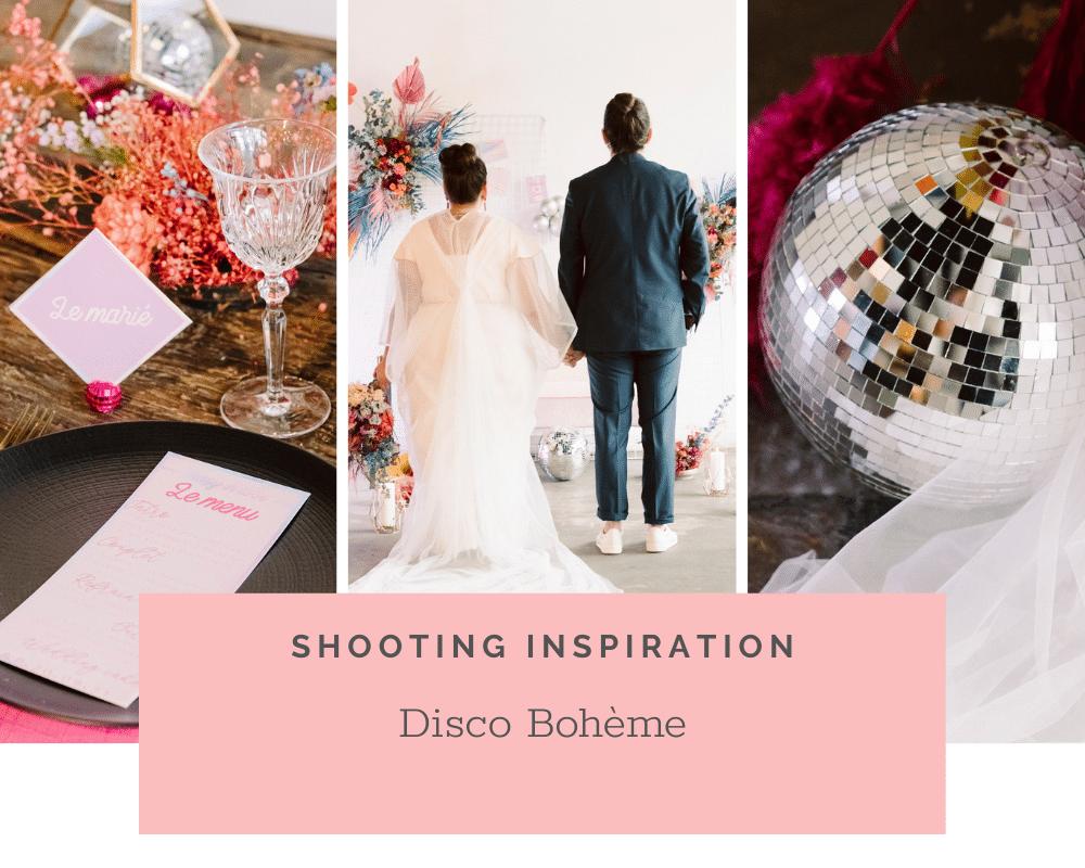 Mariage Fun, Disco, Bohème, Urbain: Shooting d'inspiration