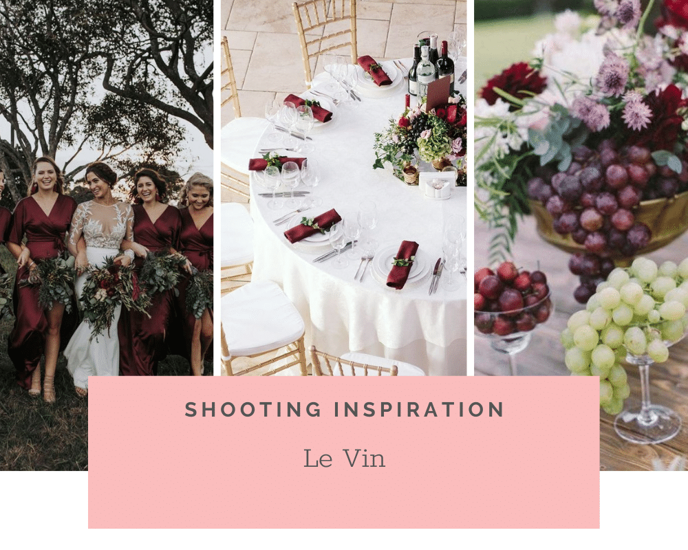Idées et Inspirations – Le vin, thème idéal pour un mariage champêtre