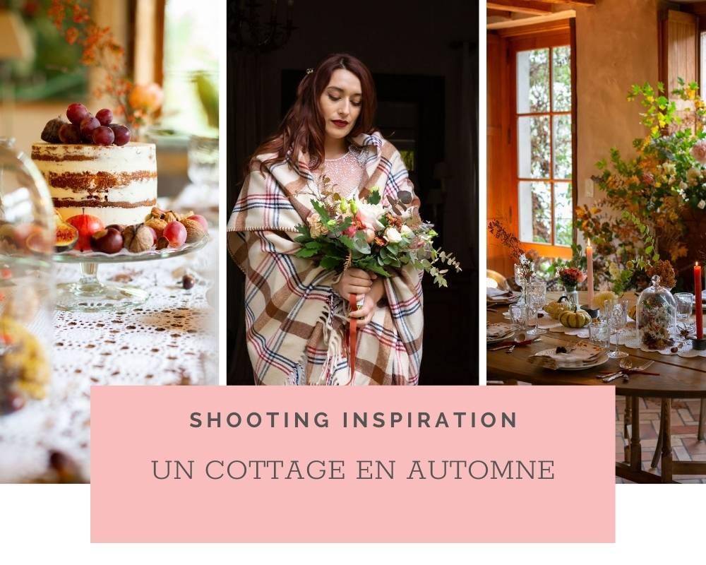 Shooting d'inspiration Mariage Champêtre: Un cottage en automne