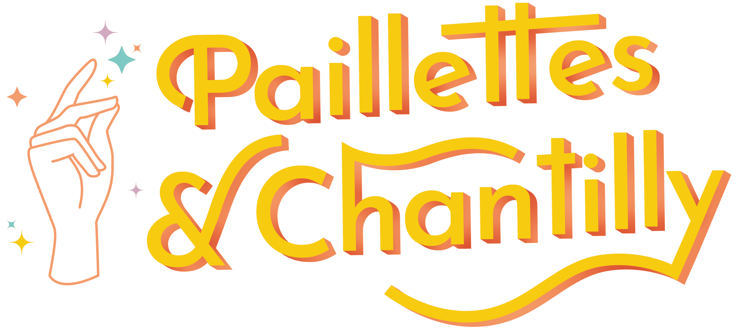 Logo paillettes & chantilly logo