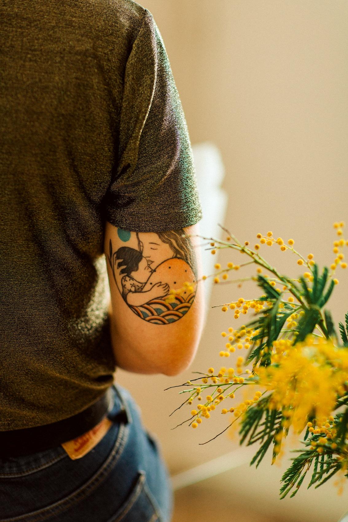 tatouage camille