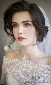 Maquillage frais mariée